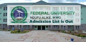 check funai admission status