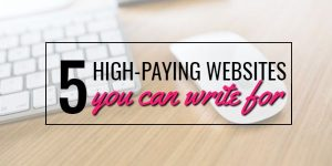 get paid to write online