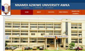 is unizik admission list out