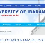 Available Courses In University of Ibadan & Postgraduate Admission Requirement