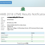 JAMB 2018 UTME: More Results To Be Released 19th March