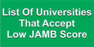 universities that accept below 180 in jamb