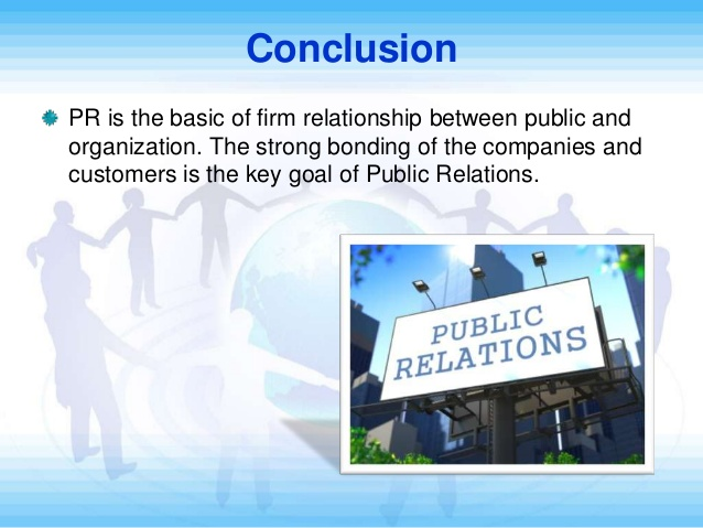 the role of public relations officer in an organization