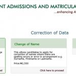 JAMB Change Of Institution & Course Form 2018 – APPLY NOW